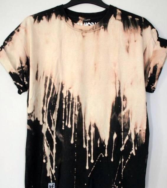 تی شرت رنگرزی